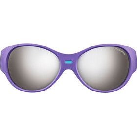 Julbo Puzzle Spectron 4 Sunglasses Kids 3-5Y Purple/Turquoise-Gray Flash Silver